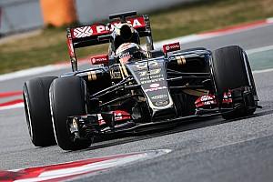 Formula 1 Testing report Maldonado happy after logging miles at Barcelona