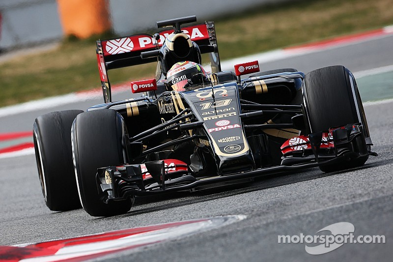 Maldonado happy after logging miles at Barcelona