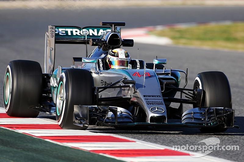 Mercedes domina de nueva cuenta