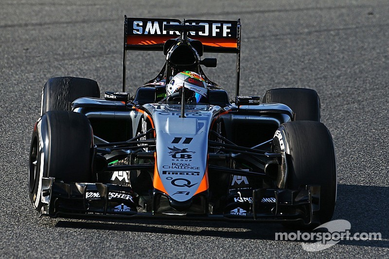 Winter testing came to an end with another productive day for Sahara Force India