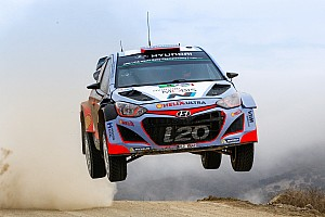 WRC Leg report Hyundai Motorsport on the pace but out of luck after dramatic Friday in Rally Mexico