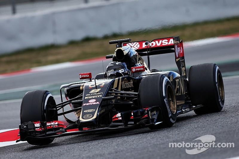 Grosjean descarta podios tempraneros