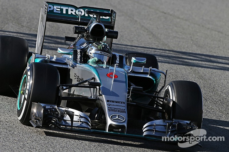 Australian Grand Prix FP1 results: Mercedes back on top