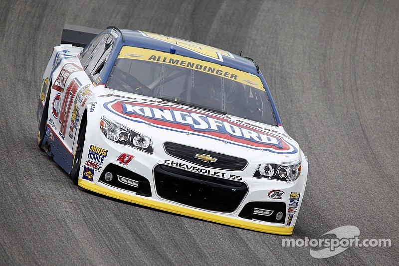 Allmendinger experiences engine woes in practice