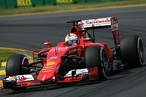 Formula 1 Qualifying report Second and third rows of the grid for Ferrari drivers on tomorrow's Australian GP