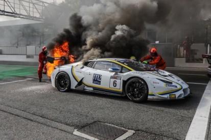 Meister mit brennendem Auto: Irre Titelentscheidung in Monza