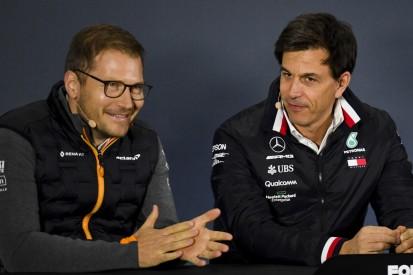 """Trotz Protestabsicht: """"Kein böses Blut"""" zwischen McLaren und Mercedes"""