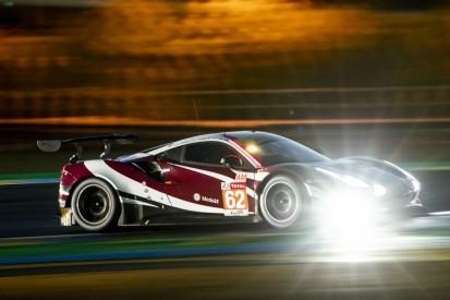 24h Le Mans 2020: Nachttraining nach Ferrari-Unfall abgebrochen