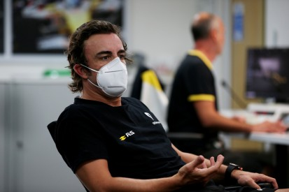 Fernando Alonso: Immer noch Angst vor COVID-19