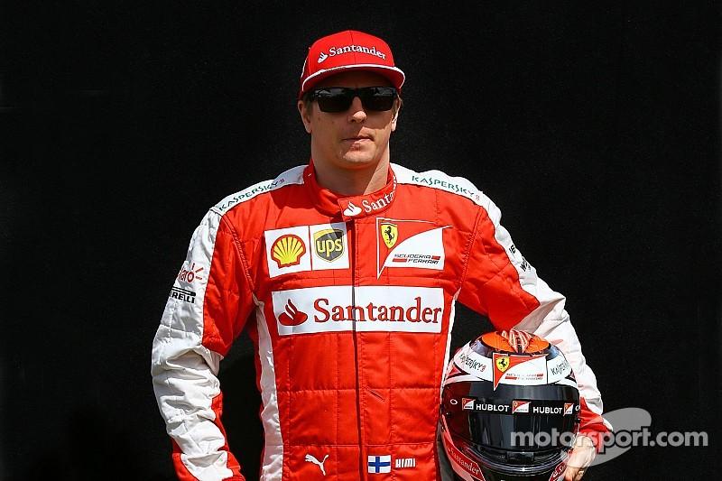 La première monoplace de Räikkönen aux enchères !