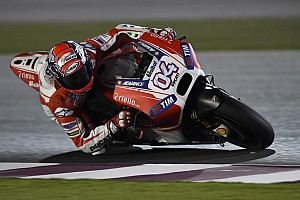 MotoGP Breaking news Qatar washout sees Ducati on top at final MotoGP test