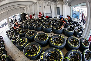 NASCAR Cup Press conference When it comes to tires, NASCAR is not blowing hot air