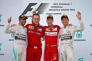 Формула 1 Отчет о гонке Себастьян Феттель выиграл на Ferrari Гран При Малайзии