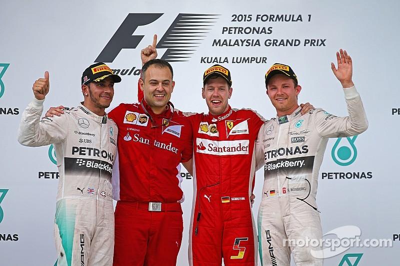 Себастьян Феттель выиграл на Ferrari Гран При Малайзии