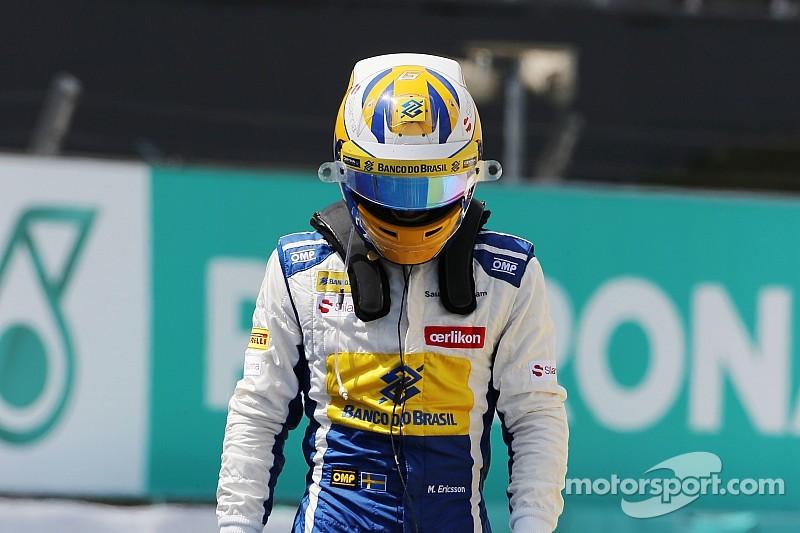 Ericsson relativise sa sortie de piste