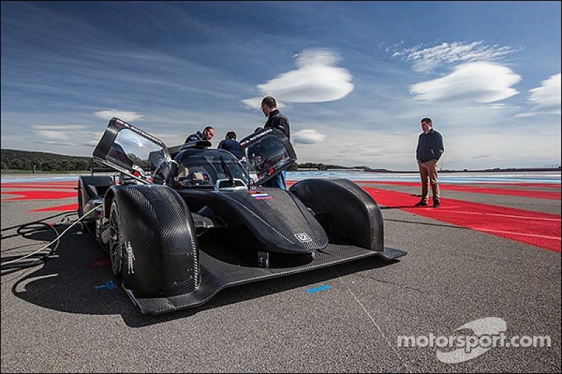 SMP Racing провела первые тесты нового прототипа
