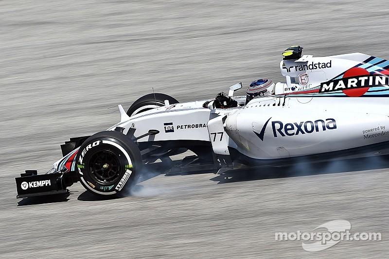 Williams admet un rythme de course très insuffisant