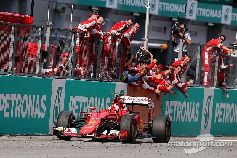 """Ferrari: """"Encore beaucoup de travail pour battre Mercedes"""""""