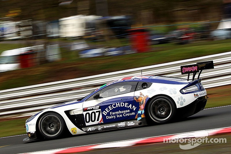 Adam and Griffin take opening British GT poles