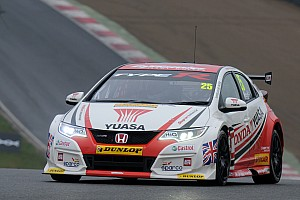 BTCC Race report Neal fends off Goff for Brands finale win