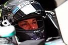 Rosberg, lejos del ritmo de Hamilton