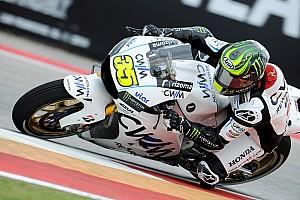 MotoGP Résumé d'essais libres Cal Crutchlow reçoit un nouveau châssis du HRC