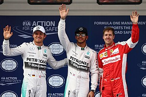 Formule 1 Résumé de qualifications Qualifications GP de Chine - Hamilton prend la pole position sans trembler