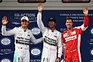 Qualifications GP de Chine - Hamilton prend la pole position sans trembler