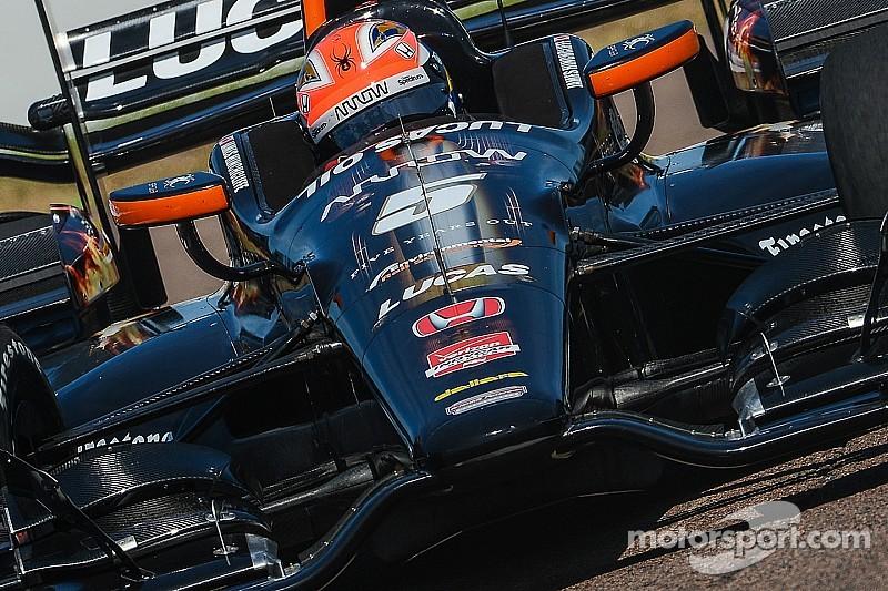IndyCar - Course : Hinchcliffe l'emporte dans le chaos