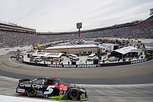 NASCAR Cup Practice report Kahne and Earnhardt top first Sprint Cup practice at Bristol