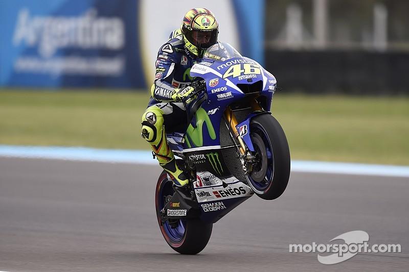"""Rossi: """"Márquez siempre apuesta a todo o nada"""""""
