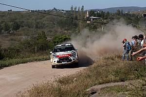 WRC Résumé de spéciale Meeke leader contesté de l'épreuve chez Citroën