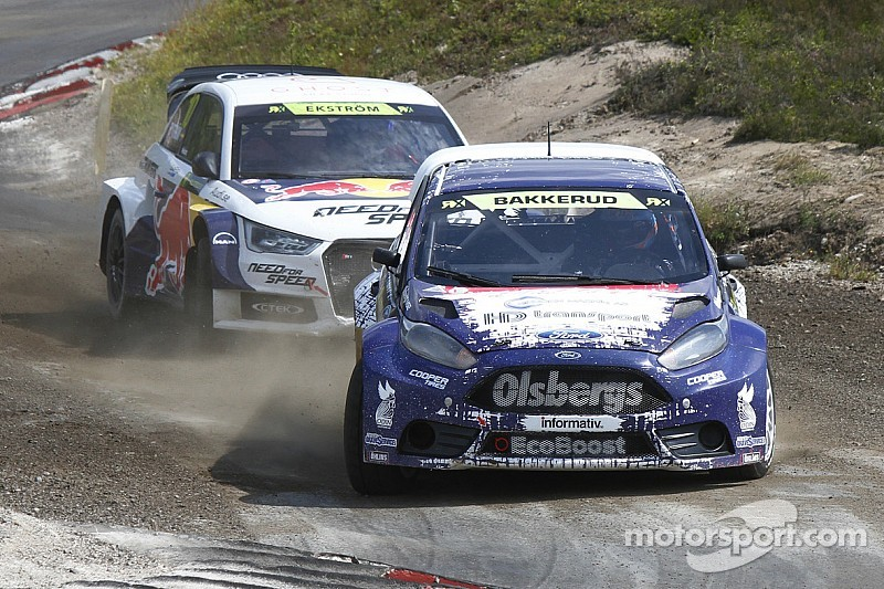 Bakkerud leads World RX after heat two in Portugal