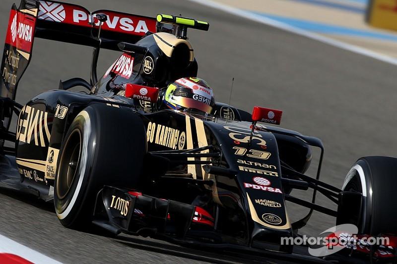 Lotus avec des évolutions aéro significatives à Barcelone