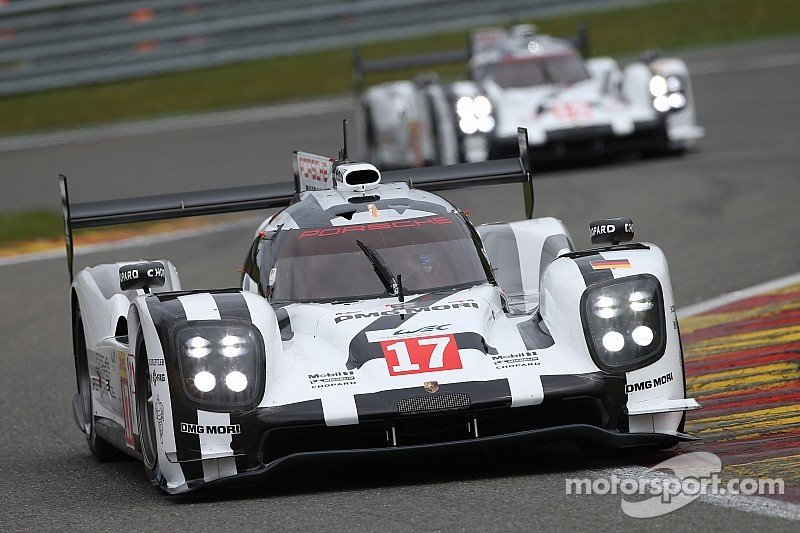 Porsche takes 1-2-3 clean sweep at Spa