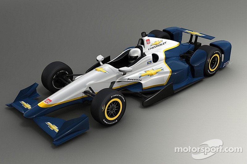 Chevrolet Indy 500 aero kit revealed