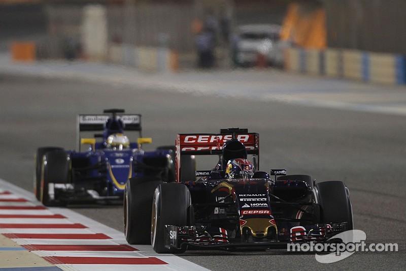 Sainz - Toro Rosso a besoin d'un gros développement moteur