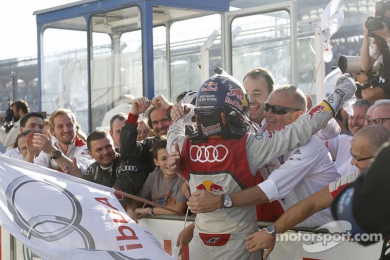 Dieter Gass - Un week-end exceptionnel pour Audi!