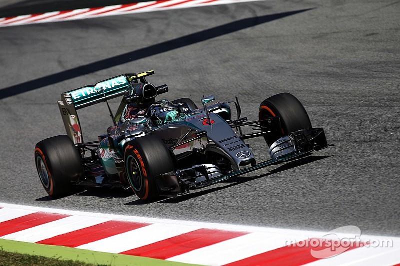 Q2 - Rosberg plus rapide, fin de série pour Grosjean