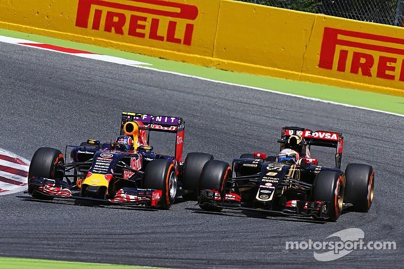 Course mouvementée mais points à l'arrivée pour Grosjean
