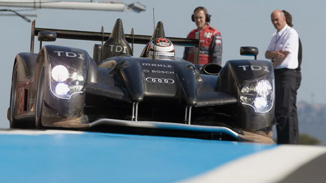 L'Audi lancia la sfida alla Peugeot per Le Mans