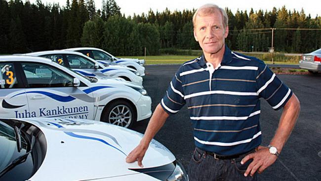 Kankkunen in Finlandia con una Focus WRC!
