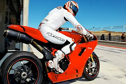 Ducatisti in pista al Motorland Aragon