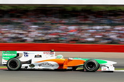 Problemi all'F-Duct sulla Force India