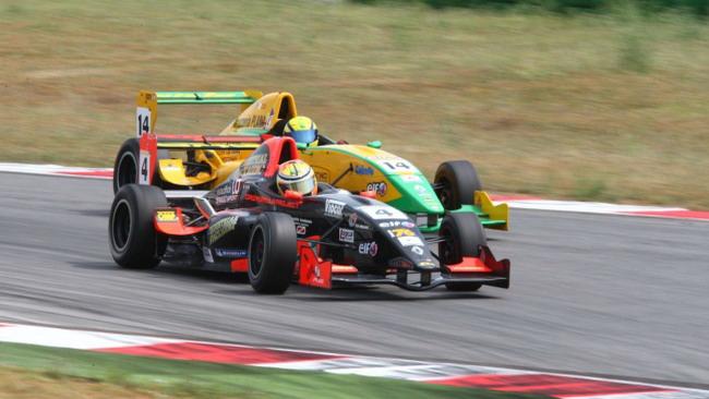 Federico Vecchi si impone in gara 2 a Misano