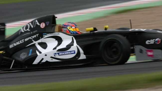 Pole position per Kevin Korjus a Silverstone