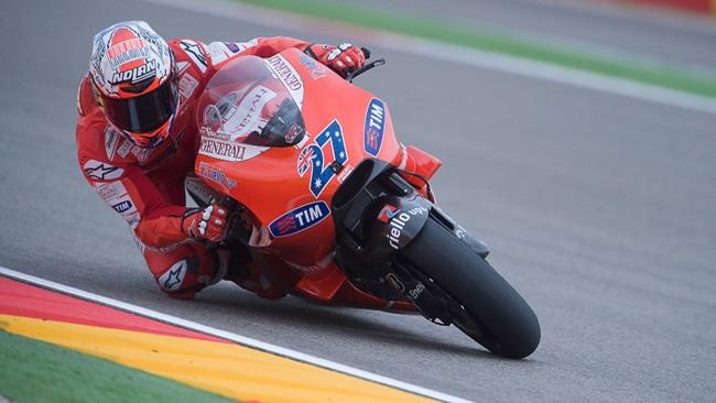 Stoner ritorna grande al Motorland Aragon