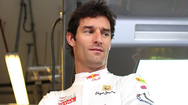 Webber per ora non sembra patire la pressione