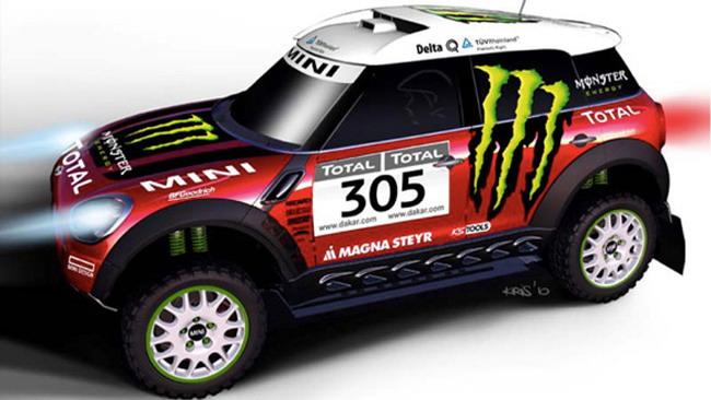 Anche una Mini al via della Dakar 2010!