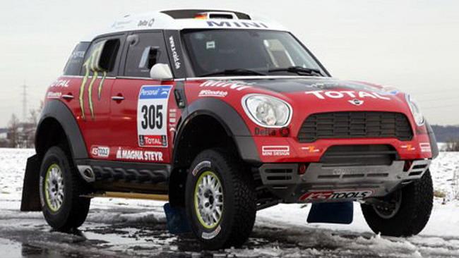 Dakar: shakedown positivo per la Mini All4Racing